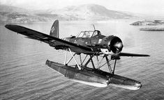 The Arado Ar 196 floatplane. The Bismarck had four, but never used them.
