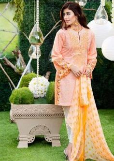 Chiffon Embroidery Collection by Alkaram-6