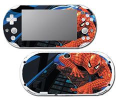 Amazing SpiderMan Spiderman 1 2 3 Cartoon Movie Video Game Vinyl Decal Skin Sticker Cover for Sony Playstation Vita Slim 2000 Series System *** See this great product.Note:It is affiliate link to Amazon.