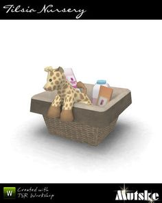 mutske's Tilsia Box full of baby stuff