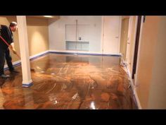 Exciting New Trend: Metallic Epoxy Floor gives You Glossy Elegance - DIY & Crafts