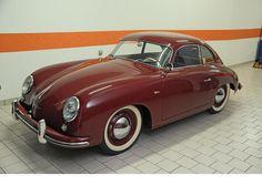 1953 Porsche 356 'pré-A' coupé - this is a vintage model I haven't seen before.