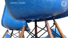 Chaises Eames vintage