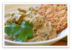 Great dip for Phase 1 -- You don't need the tiny smidgen of oil in this recipe.