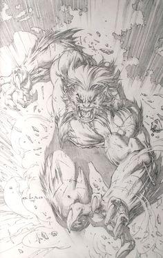 Beast by Eric 'e-bas' Basaldua