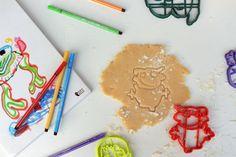 Children's drawing custom cookie cutter