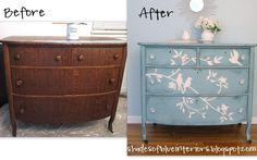 Blue Bird Dresser - Shades of Blue Interiors