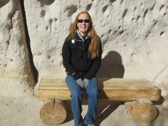 Bryce at Bandelier National Monument