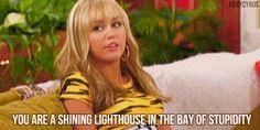 Hannah Montana...niiiiiiice could not have said it any better myself ^.^