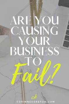 If you protect yourself or play small in your business to avoid hurt or failure, YOU could be causing your business to fail. Today's blog post will give you confidence and motivate you get past your fears, go all in, and show up for your life and business so that you can find success and feel more spiritually connected and aligned with your business than ever. CorinneKerston.com #fear #mindset #mindsettips #confidence #womeninbusiness #business #businesstips