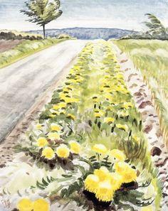 Charles Burchfield, Dandelions