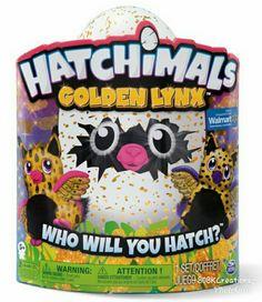 Hatchimals Glittery - Hatching Egg - Interactive Creature – Golden Lynx by Spin Master (Gold) - Walmart Exclusive - #6040805