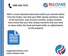 #Loan #NOC #Tips and #Tricks - #Ruloans