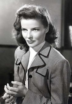 {Katharine Hepburn} I love her she's so pretty, intelligent, and a great actress.