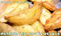 Patatas en gajos deluxe