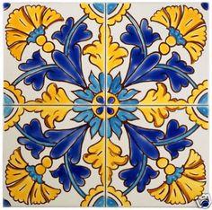 """Moroccan """"Gibraltar"""" Mediterranean Tiles   eBay"""