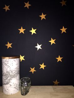Stars Removable vinyl wall decals. Interior design • kids rooms • nursery • girls rooms • boys rooms • copper • marble Copper And Marble, Removable Vinyl Wall Decals, Girl Nursery, Kids Rooms, Girl Room, Boys, Girls, Interior Design, Stars