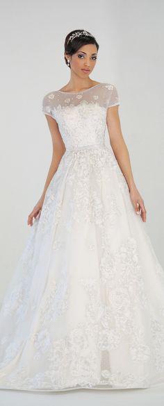 Eugenia Couture Spring 2016 Wedding Dress - Sylvia