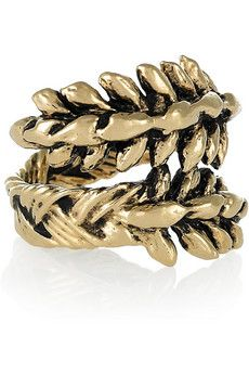 This might have to be my next purchase. Aurelie Bidermann ring $170
