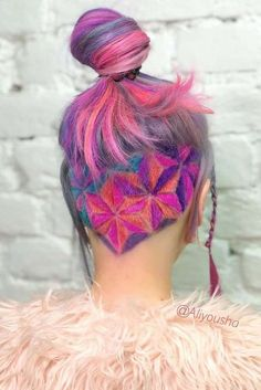 Awesome Ideas with an Undercut for Daring Women ★ See more: http://glaminati.com/undercut-hairstyle-women/