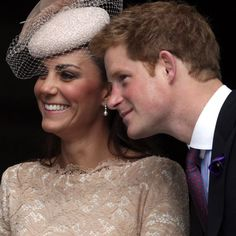 Pin for Later: The Duchess of Cambridge and Prince Harry's Cutest In-Law Moments Ever