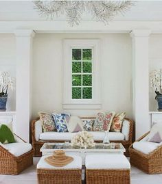 Aerin Lauder Beauty at Home outdoor area