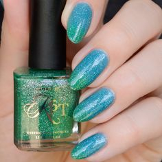 Swimming With Mermaids swatch by @constantlypolished
