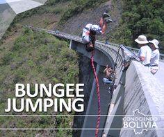 Practique deportes extremos en Cochabamba Bungee Jumping o saltar desde un puente, para saber mas haga click en la imagen