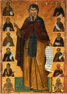 Byzantine Icons, Byzantine Art, Anthony The Great, Middle Age Fashion, Religious Icons, Orthodox Icons, Christian Faith, Catholic, Cool Photos