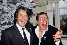 Alain Delon and Jerry Lewis