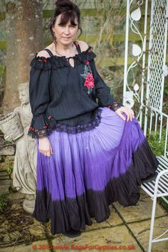 Adriana Gypsy Bohemian Romantic Hippy Feminine by RagsForGypsies