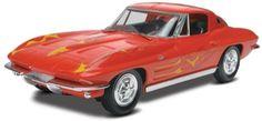 Scalehobbyist.com: 1963 Corvette Sting Ray Coupe (snap) by Revell Monogram