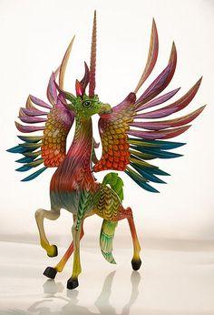 alebrije unicornio - Поиск в Google