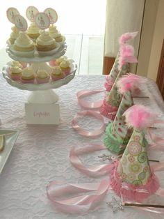 #princess party hats. Cute