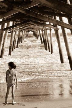 North Carolina beaches are where memories are made. www.SeaCoastRealty.com #carolinabeachnc #beach