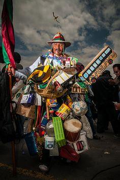 ¡Hombre Ekeko! / Ekeko Man!.// During Alasita party held in the City of La Paz, Bolivia.