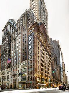 El Library Hotel de Nueva York en fotos - Mejor hotel boutique de NYC