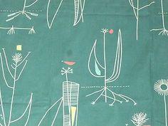 Herb Antony 1950's fabric Lucienne Day design   eBay