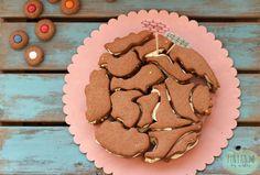 Tarta de animal cookies por Pintando las nubes