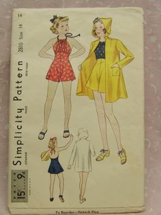 Simplicity 2810: golly how cute is that