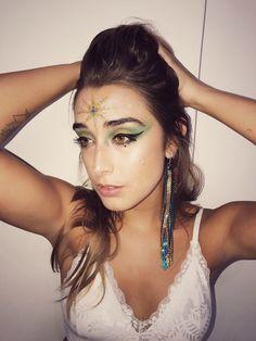 Glitter makeup @heylaix