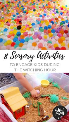 8 Sensory Activities to Engage Kids During the Witching Hour