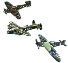 Ww2 raf spitfire hurricane & lancaster military #aircraft metal #enamel #badge se,  View more on the LINK: http://www.zeppy.io/product/gb/2/262580684826/