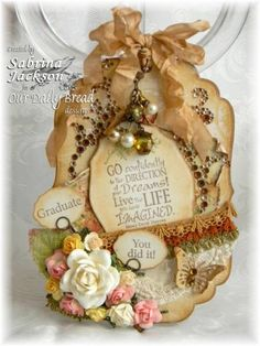 Graduation Tag...SJ by okimom2girlz - Cards and Paper Crafts at Splitcoaststampers