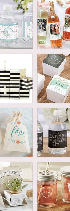 20 Creative Favor Ideas for Weddings + Parties!