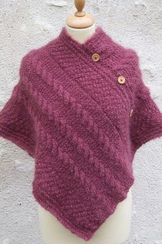 Image result for poncho tricot