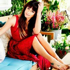 Lea Michele ❤ photoshoot | Domaine Home