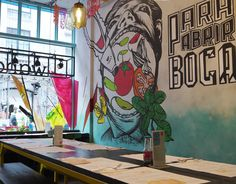 Authentic Mexican murals created for Soho restaurant