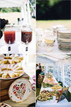 wedding buffet @weddingchicks