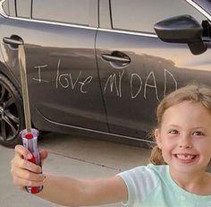 Que pai não ficaria feliz?!?! kkkkk